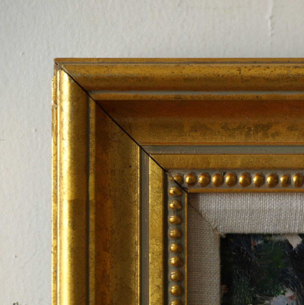 Gold Frame - Beaded Inside